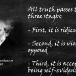 arthur schopenhauer quote truth